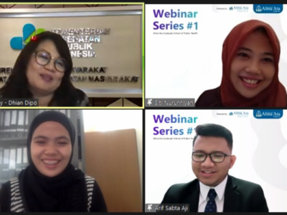 """Webinar Nasional """"The Triple Burden Malnutrition: Post-COVID 19 Challenges and Strategies"""""""