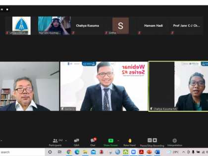 """Webinar Nasional """"The New Challenges in NCDs Control and Prevention in The Asia Pacific Region"""""""